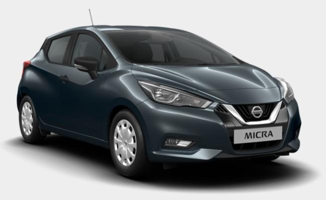 Nissan Micra visia leasing