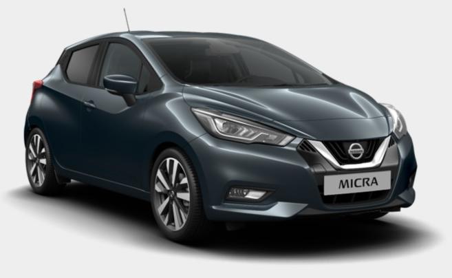 Nissan Micra tekna leasing