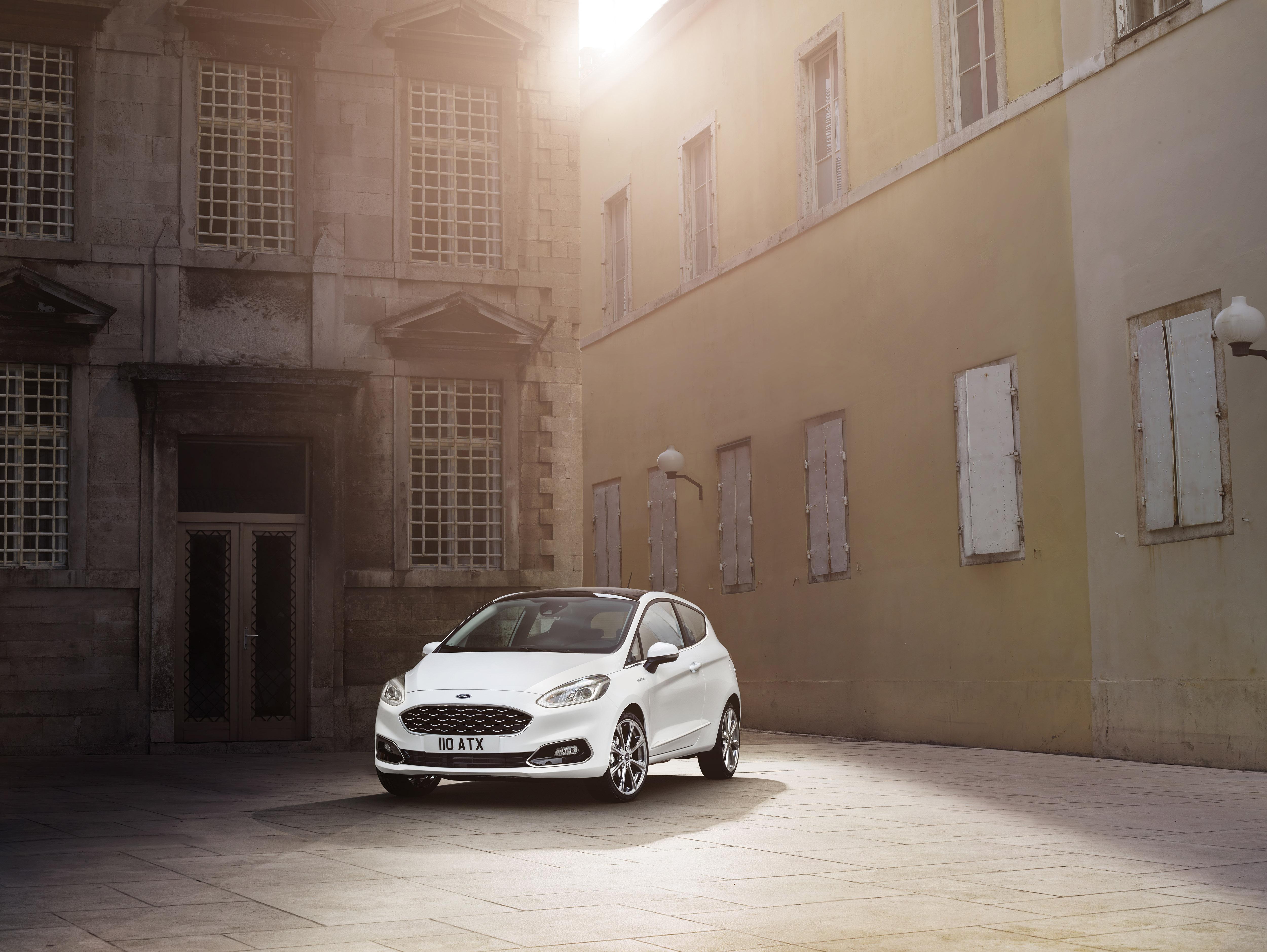 Ford Fiesta på gaden