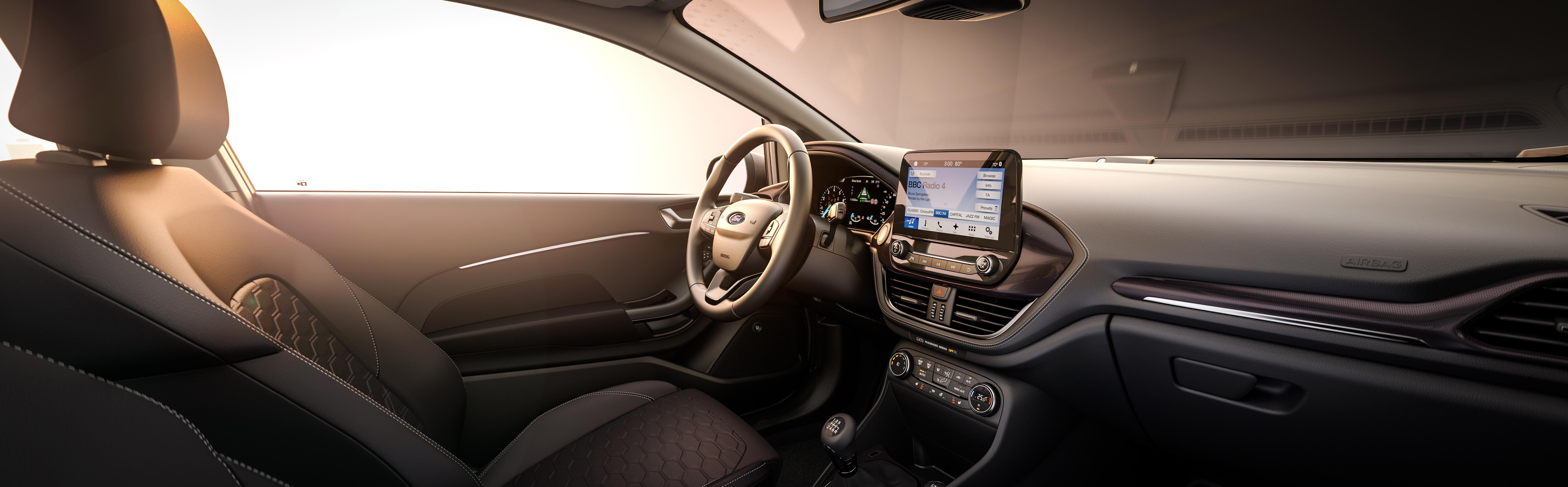 Ford Fiesta interiør