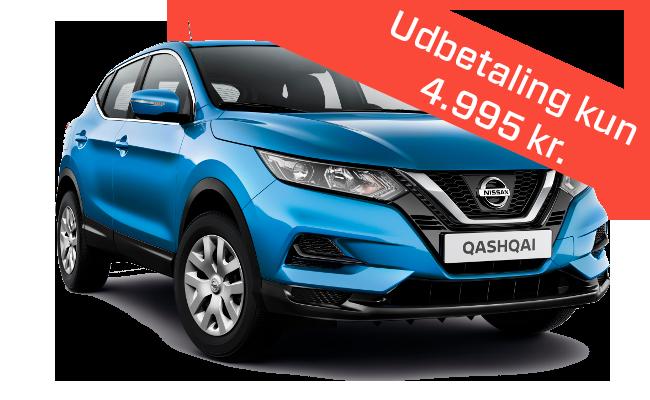 Lease Nissan Qashqai Visia diesel