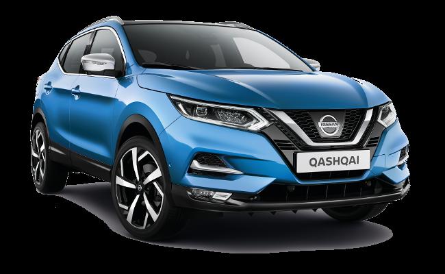 Lease Nissan Qashqai Tekna+
